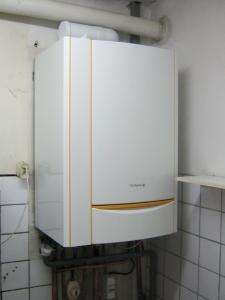 Chaudière gaz à condensation DE DIETRICH gamme inovens avec préparateur d'eau chaude sanitaire intégré