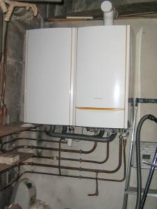 Chaudière gaz à condensation avec préparateur d'eau chaude sanitaire séparé - DE DIETRICH Gamme Innovens