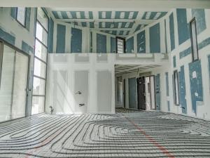 Installation d'un plancher chauffant à Montfavet