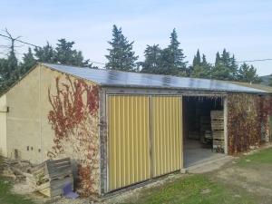 Hangar photovoltaïque à Saumane-de-Vaucluse