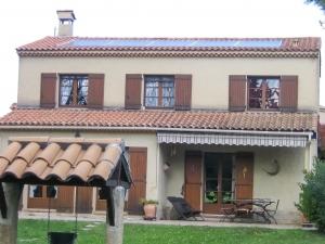 Installation photovoltaïque sur une habitation individuelle