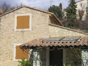 Chauffe-eau solaire pour une habitation individuelle